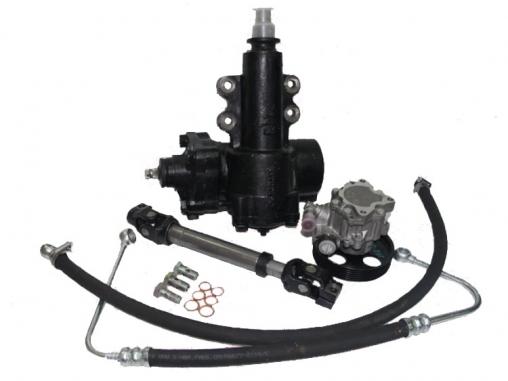 """Комплект замены системы гур """"Delphi"""" на """"YuBei"""" УАЗ 3163 Патриот (механизм, насос, карданчик, шланги, штуцера) """"Autogur73"""""""