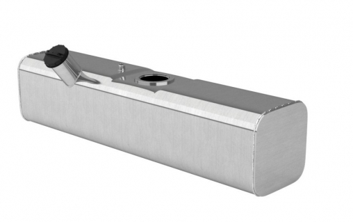 Бак топливный алюминиевый УАЗ Хантер (правый, основной, под погружной насос) 39 литра