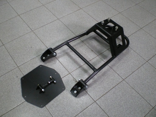 Калитка запасного колеса УАЗ Patriot на крыло Вездеходофф