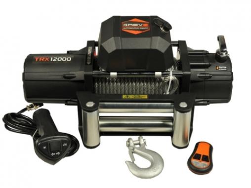 Лебедка автомобильная 4REVO 12000 12V со стальным тросом