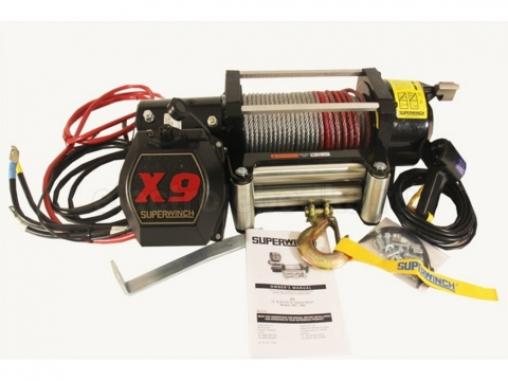 Лебедка SUPERWINCH X9 электрическая 12В