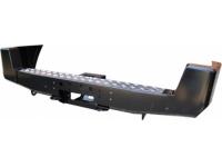Бампер задний с площадкой под лебедку для УАЗ Патриот РИФ