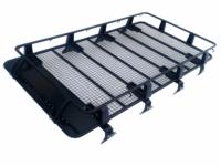 Багажник экспедиционный, стальной универсальный. Размер 220x125x19 PowerFul HD08-D1 A2 (8 опор)
