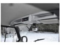 Полка акустическая под магнитолу и колонки для УАЗ Hunter