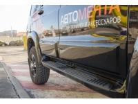 Молдинги на двери для УАЗ Патриот (неокрашенные)