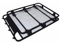 Стальной экспедиционный багажник на водостоки (разборный). Размер 160x125x19 см