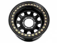 Диск колёсный крашеный с бедлоком черный УАЗ 1580-539
