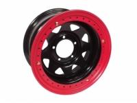 Диск колёсный стальной штампованный посадка 5x139.7 УАЗ размер 8х15 вылет ET -40 центральное отверстие D 110 с бедлоком