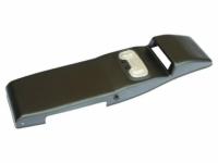 Консоль потолочная для установки р/c УАЗ Патриот рестайлинг 2014, вырез под р/c 140х40 мм, черная