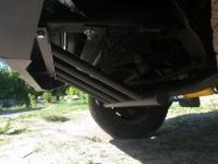 Защита рулевых тяг, установка на штатные места без сверления, на УАЗ Хантер OJeep