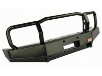 Бампер РИФ передний Toyota Land Cruiser 76/78 2007+ без доп. фар с защитной дугой, с площадкой под лебедку