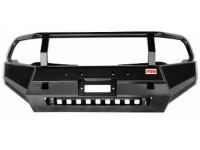 Бампер РИФ передний Mitsubishi L200 2015+ с защитной дугой и защитой бачка омывателя