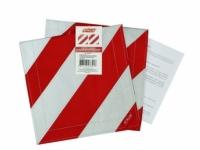 Комплект флажков со световозвращающей лентой для буксировочных ремня/троса