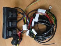 Комплект электропроводки для пневмоблокировки Спрут