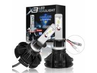Светодиодные лампы головного света X3 LED Headlight H11