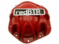 """Крышка картера моста """"redBTR"""" алюминиевая без пробок"""