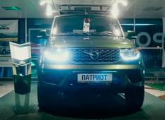 УАЗ «Патриот» для деревни с двигателем от «Форд Транзит».