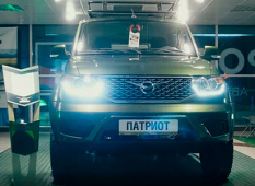 УАЗ «Патриот» с двигателем от «Форд Транзит».